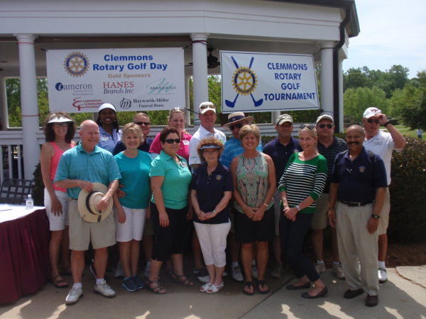 2014 Clemmons Rotary Golf Tournament Volunteers