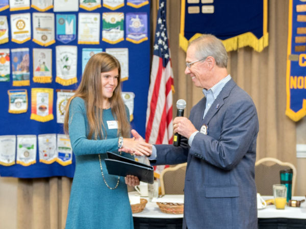 Clemmons Rotary Student of the Month